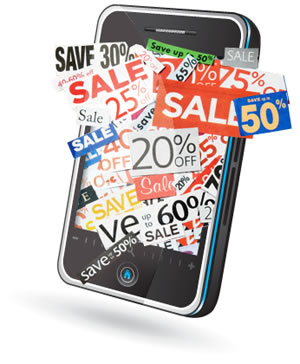 Mobile Coupons via Txt Msg